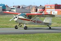 G-BRPY @ EGNH - 1948 Piper PA-15 Vagabond, c/n: 15-141 at Blackpool