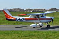 G-BHFI @ EGNH - 1980 Cessna F152, c/n: 1685 at Blackpool