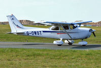 G-OWST @ EGNH - 1999 Cessna 172S, c/n: 172S8163 at Blackpool