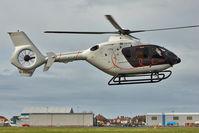 G-SENS @ EGNH - 2009 Eurocopter EC-135T-2+, c/n: 0833 at Blackpool
