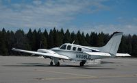 N808LC @ GOO - Aircraft just arrived at Nevada County Airport, CA on 3-10-12, at approx. noon. - by Phil Juvet