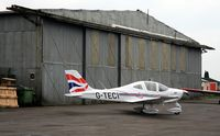 G-TECI @ EGTB - Originally and currently owned to, Polarb Air Ltd June 2010 & Operated by, British Airways Flying Club with BA tail livery - Outside a Bellman hangar. - by Clive Glaister