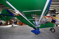 EI-DKT - In the hanger at Limetree Airfield during the March Fly-in 2012. - by Noel Kearney