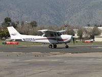 N106RA @ POC - On taxiway Sierra heading to runway 26L - by Helicopterfriend