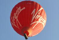 G-VBFF - 2006 Lindstrand Hot Air Balloons Ltd LBL 360A, c/n: 1116 of Virgin Balloons - over Belper, Derbyshire