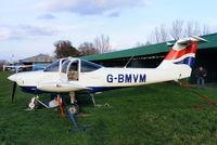 G-BMVM @ X2BM - at Lower Wasing Farm, Brimpton - by Chris Hall