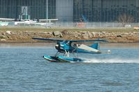 C-FEBB @ YVR - Take off from Fraser River - by metricbolt