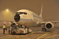 YR-BGG @ EDDM - Tarom Boeing 737-700