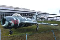 7469 - Mikoyan i Gurevich MiG-17F FRESCO-C at the Museum of Flight, Seattle WA - by Ingo Warnecke