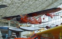 N13477 - Stinson Reliant SR at the Museum of Flight, Seattle WA - by Ingo Warnecke