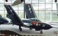 131232 - Grumman F9F-8 Cougar at the Museum of Flight, Seattle WA - by Ingo Warnecke