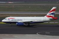 G-EUPR @ EDDL - British Airways, Airbus A319-131, CN: 1329 - by Air-Micha