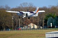 N204EH @ KOMH - Take off Orange - by Ronald Barker