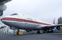 N7470 - Boeing 747 at the Museum of Flight, Seattle WA