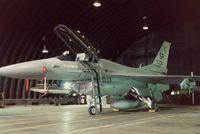 86-0230 @ ETAD - My Fourth and final F-16 I would crew. Assistant Crew Chief A1C Christine Stone. 52d Tac Ftr Wg/81st Tac Ftr Sqdn. - by Ironramper