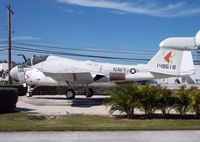 148618 @ KNQX - This Intruder served as a prototype for the EA-6 program. It now serves as a gate guard in the markings of VAQ-33. - by Ironramper