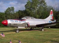 51-5671 - This F-94 has been sitting in this cemetery since I can remember...she looks pretty good for an old bird. - by Ironramper