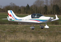 OK-JUA 03 @ EGSV - Arrivng for the fly in. - by Matt Varley