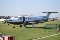 D-FCGH @ EGLD - Pilatus PC-12/45 at Denham - by moxy