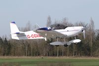 G-CGVZ @ EGSV - About to touch down. - by Graham Reeve