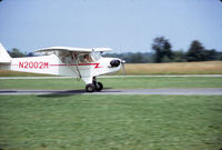 N2002M @ 06N - N2002M flying at Randall Airport, Middletown, NY in 1973 - by Mike Boland