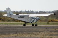 G-CCLP @ EGFH - Visiting Savannah microlight. - by Roger Winser