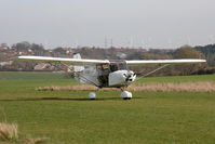 G-CDOV @ X5FB - Skyranger 912(2), Fishburn Airfield, March 2012. - by Malcolm Clarke