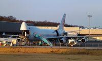 LX-PCV @ LUX - Loading / unloading @ Cargolux Cargo Center main hub - by Jean M Braun