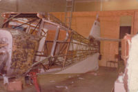 CF-MOA - New fabric on Fuselage Spring 1980. - by Regan