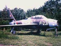 P-231 @ UNKN - Photograph by Edwin van Opstal with permission. Scanned from a color slide.