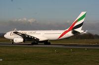 A6-EAN @ EGCC - Emirates - by Chris Hall