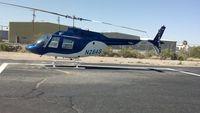 N284S @ KTUS - N284S at Southwest Helicopters, Tucson AZ