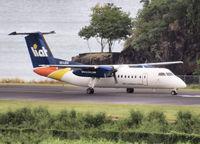 V2-LEU @ SLU - Ready for take off from St Lucia - by Willem Göebel