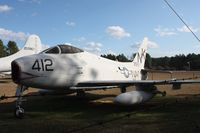 143557 - AF-1E Fury at Georgia Veterans Park in Cordele GA - by Florida Metal