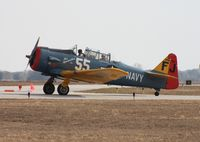 N5FJ @ SEF - AT-6 Texan