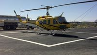 N16HX @ KTUS - Firefighting Helicopter taking a well-deserved rest in Tucson.