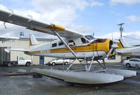 N1018F @ S60 - DeHavilland Canada DHC-2 Beaver on floats at Kenmore Air Harbor, Kenmore WA - by Ingo Warnecke
