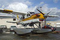 N1455T @ S60 - DeHavilland Canada DHC-2 Turbo-Beaver Mk.III on floats at Kenmore Air Harbor, Kenmore WA