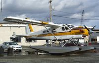 N1455T @ S60 - DeHavilland Canada DHC-2 Turbo-Beaver Mk.III on floats at Kenmore Air Harbor, Kenmore WA - by Ingo Warnecke