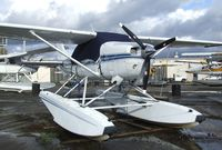 N756WJ @ S60 - Cessna U206G Stationair on floats at Kenmore Air Harbor, Kenmore WA
