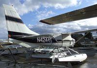 N4244S @ S60 - Cessna U206G Stationair on floats at Kenmore Air Harbor, Kenmore WA