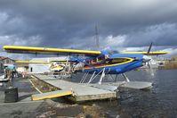 N50KA @ S60 - DeHavilland Canada DHC-3T Turbo-Otter on floats at Kenmore Air Harbor, Kenmore WA