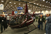 N966MC @ 49T - On display at Heli-Expo - 2012 - Dallas, Tx