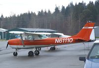 N61110 @ 0S9 - Cessna 150J Commuter at Jefferson County Intl Airport, Port Townsend WA