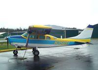 N35851 @ 0S9 - Cessna U206F Stationair at Jefferson County Intl Airport, Port Townsend WA