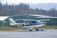 N12110 @ 0S9 - Cessna 172M at Jefferson County Intl Airport, Port Townsend WA