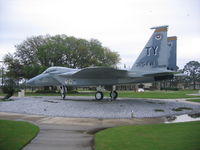 74-0095 @ KPAM - On Display at Tyndall AFB - by Mark Silvestri