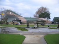 63-7408 @ KPAM - On display at Tyndall AFB - by Mark Silvestri