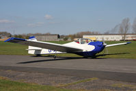 G-BXAN @ EGBR - Scheibe SF25C, Breighton Airfield's 2012 April Fools Fly-In. - by Malcolm Clarke