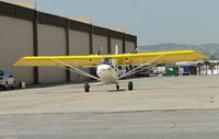 N93PG @ CNO - Taxiing from hanger - by Helicopterfriend